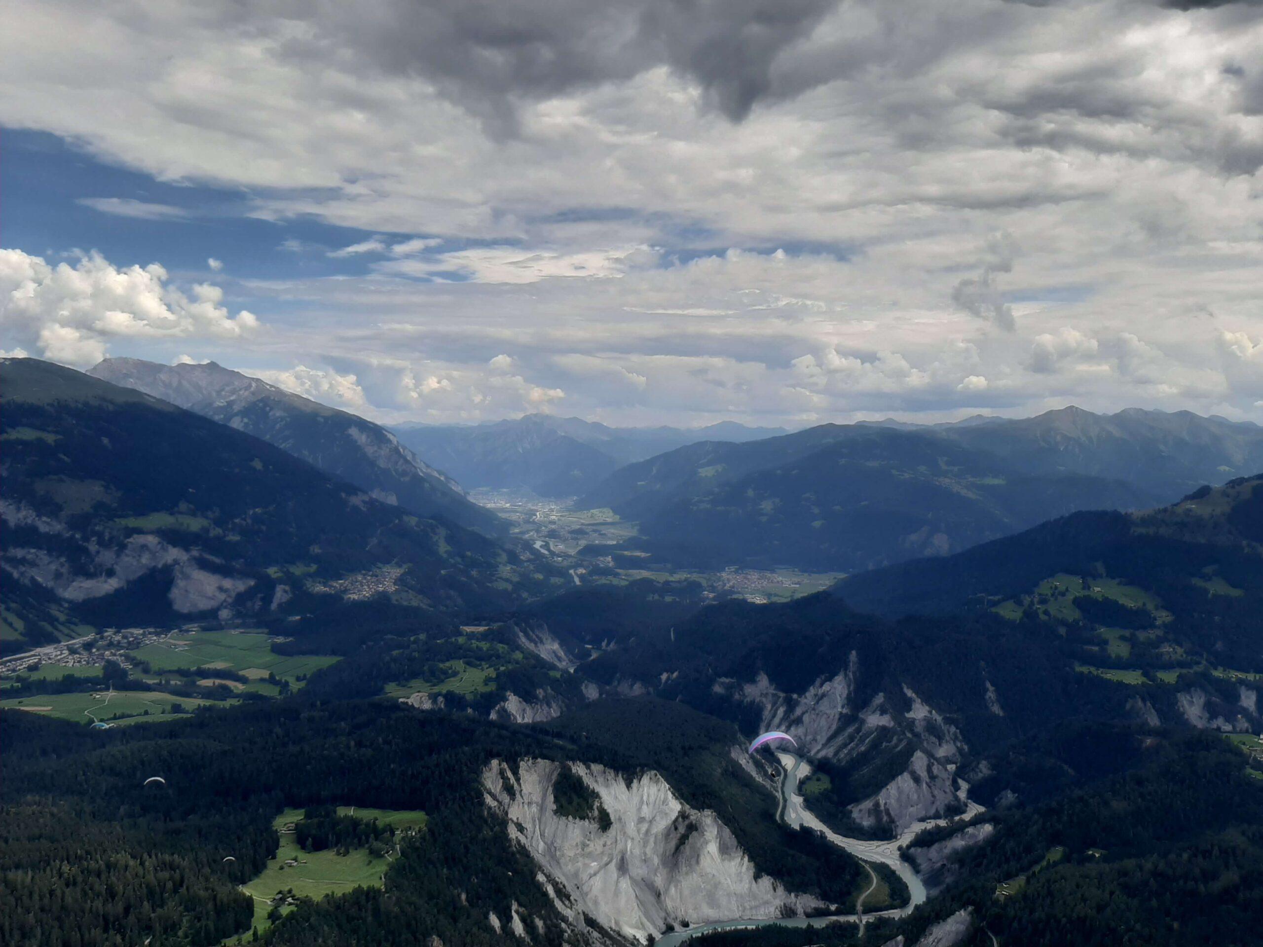 PWC Disentis, Švica: Lizanje skal